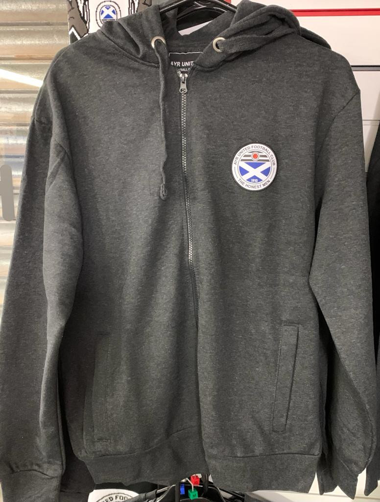 Full Zip Charcoal Hoody (Small)