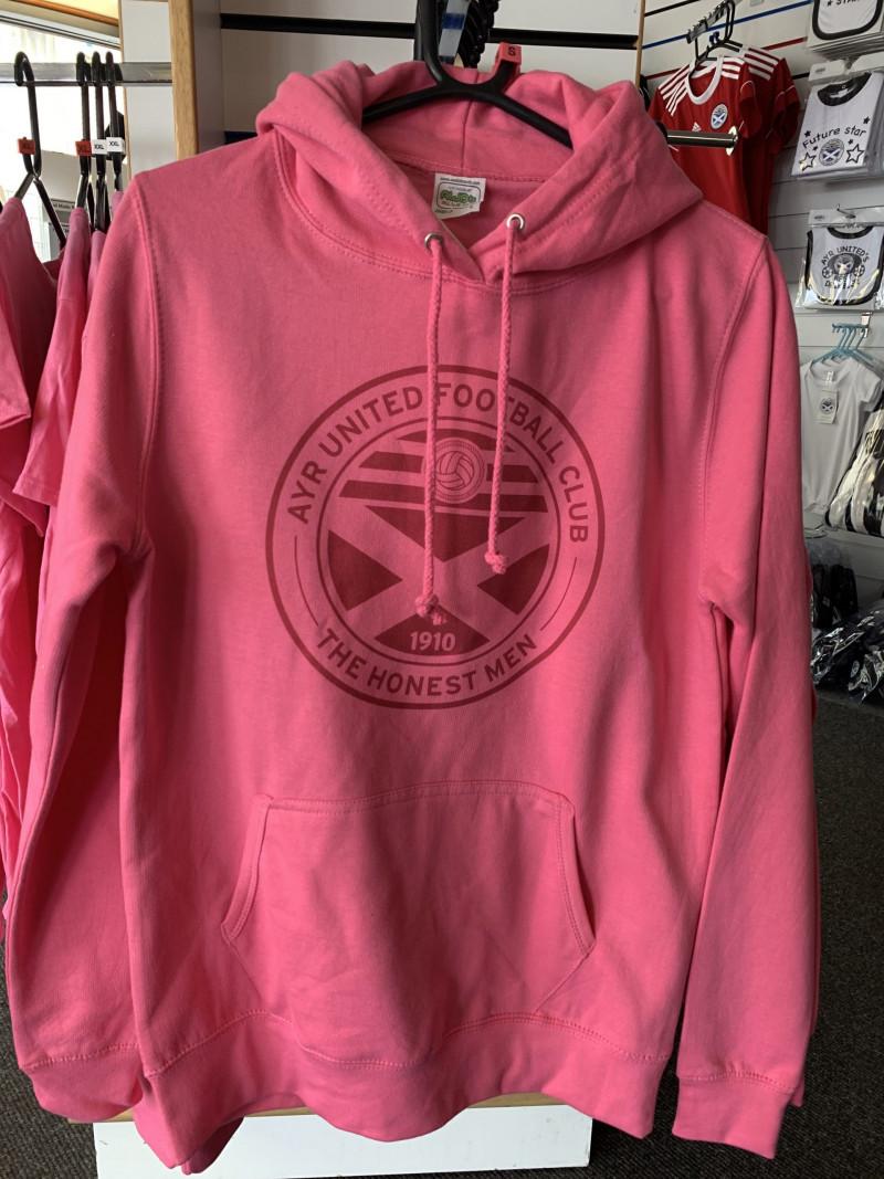 Ladies Pink Hoody (2XL)